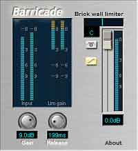 Free VST plugg-ins Barricade